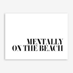 On The Beach Print