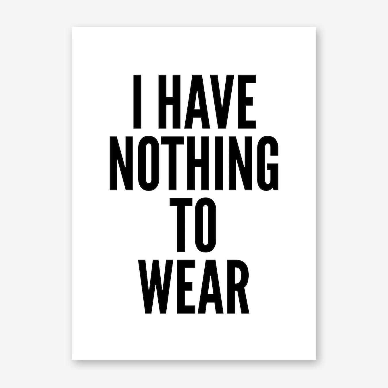 Nothing Print