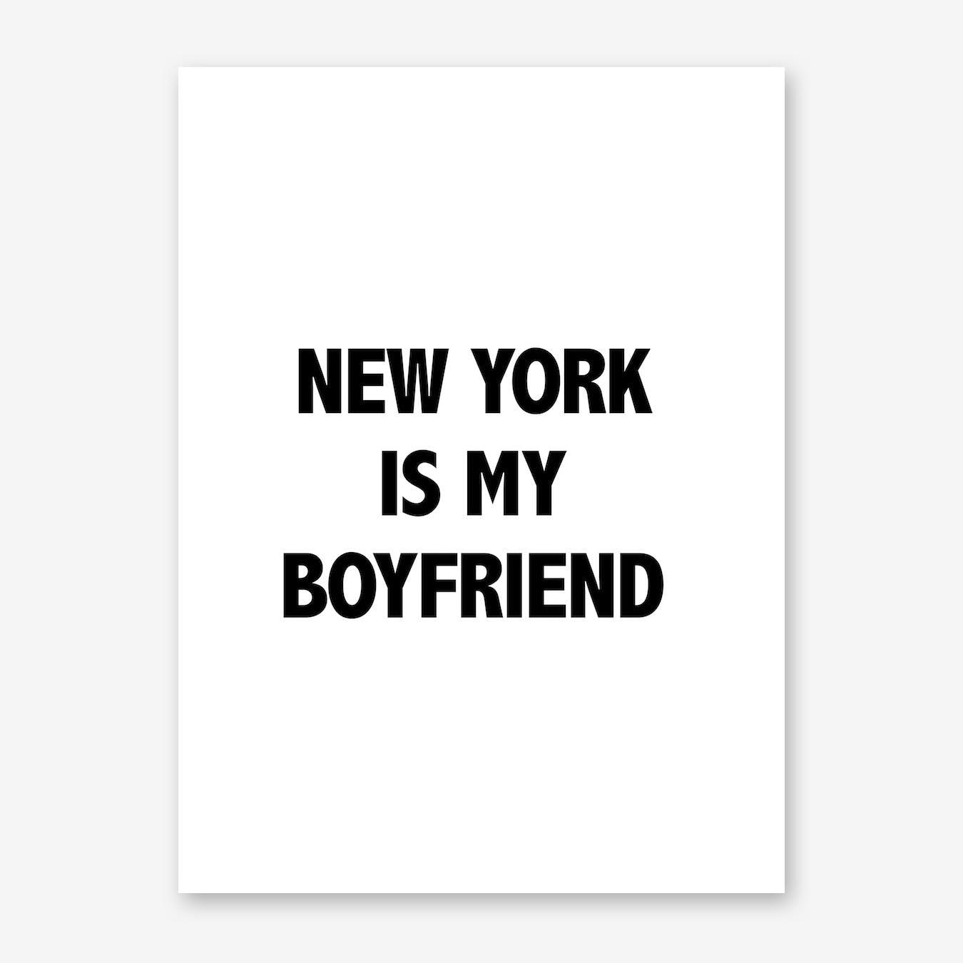 Boyfriend Print