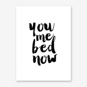 Bed Now Art Print