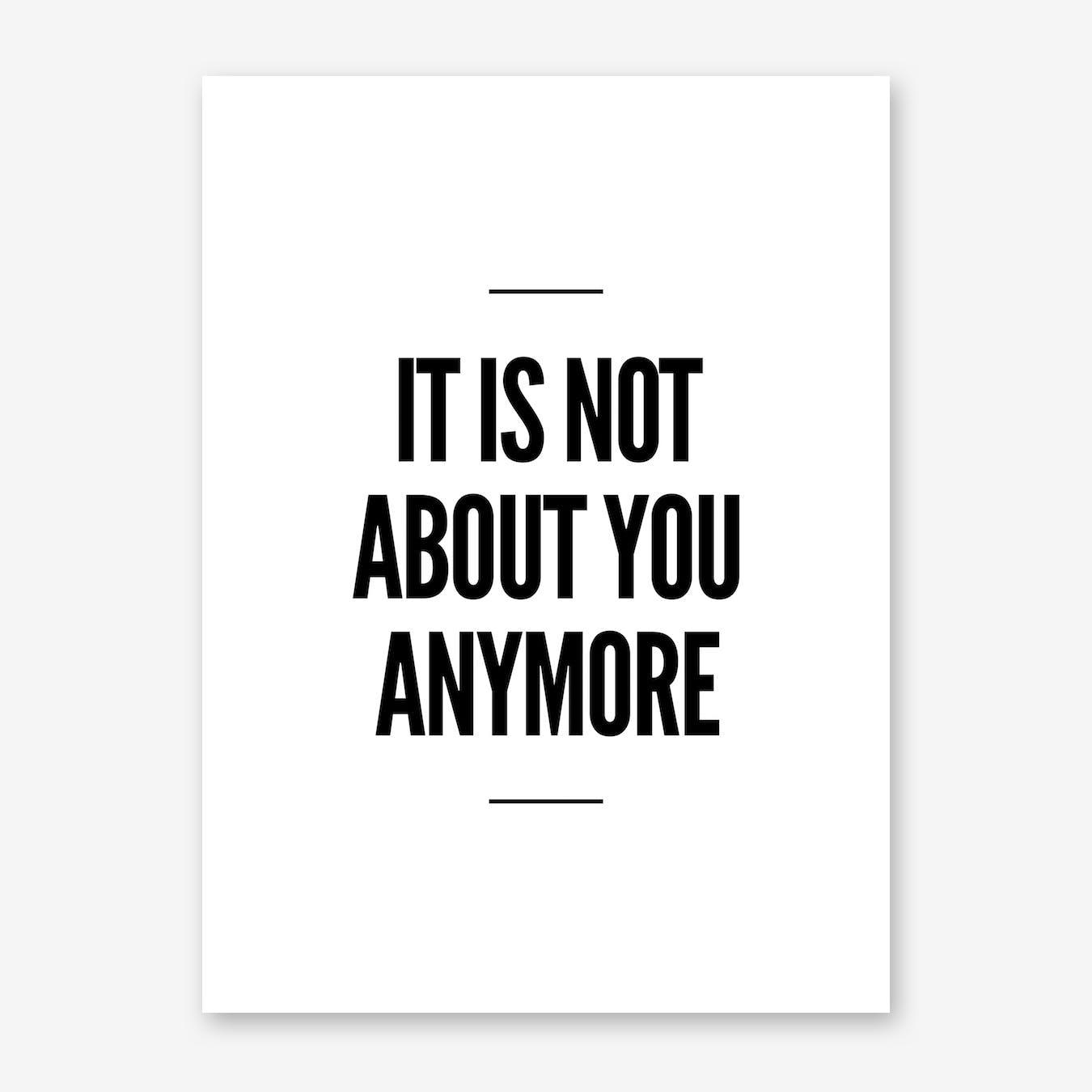 Anymore Print