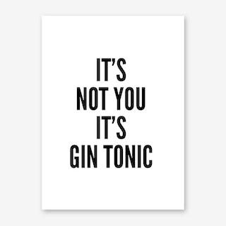 Gin Tonic Art Print