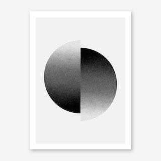 Gradient Point Art Print