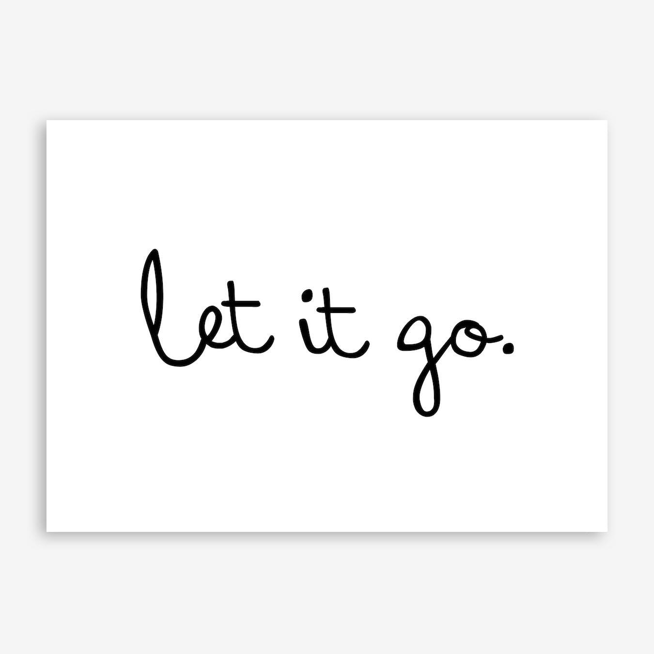 Let It Go Print