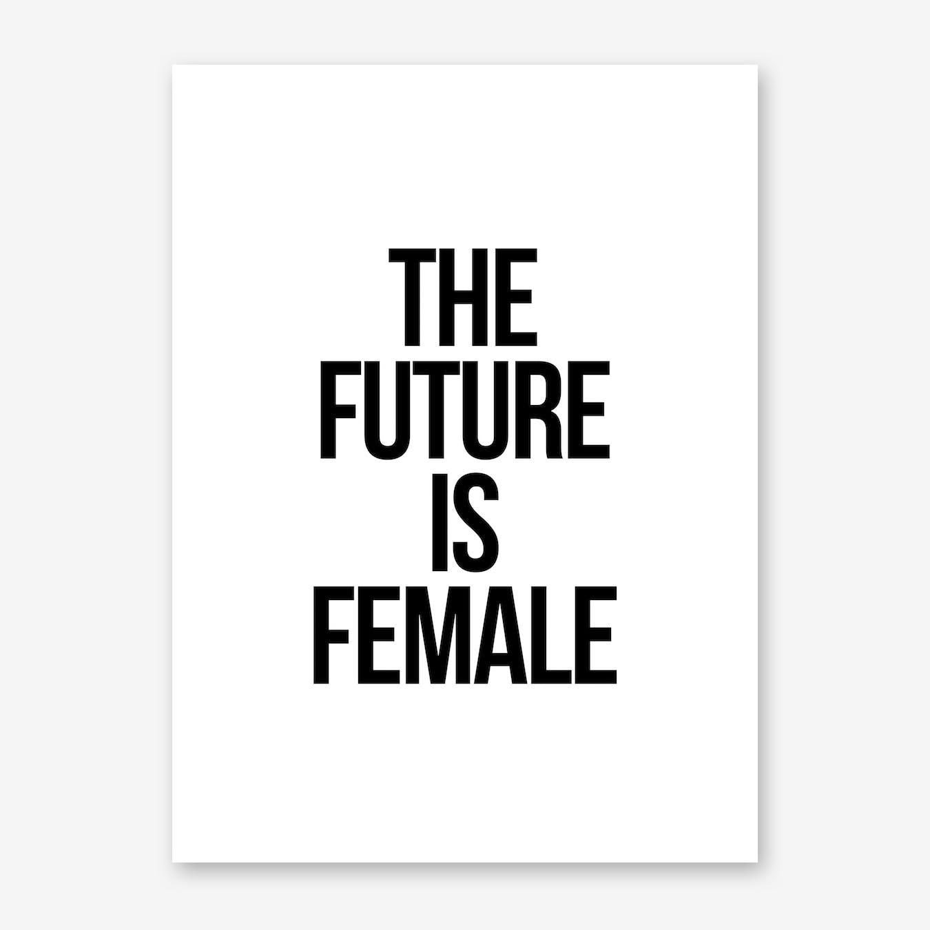 Female Print