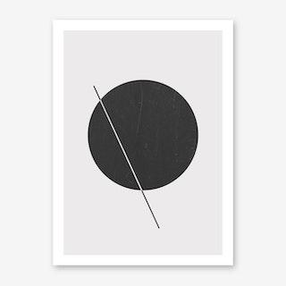Elipse Line Art Print