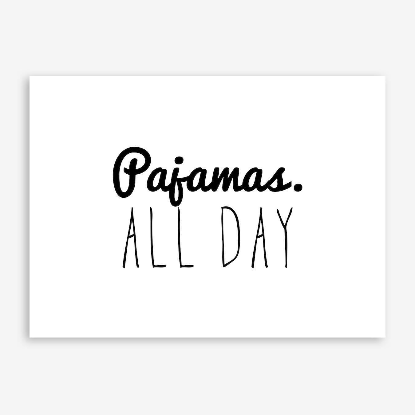 Pajamas Print