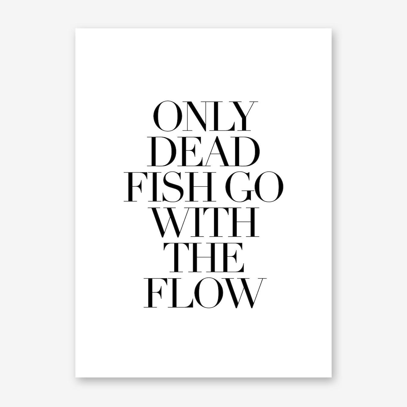 Dead Fish Print