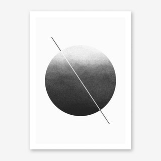 Dark Grain Art Print