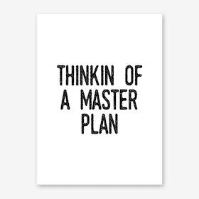 Master Plan Print