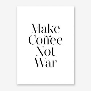 Make Coffee B Art Print