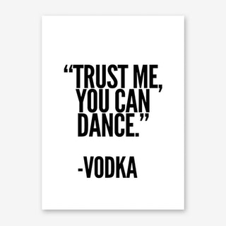 Vodka Art Print