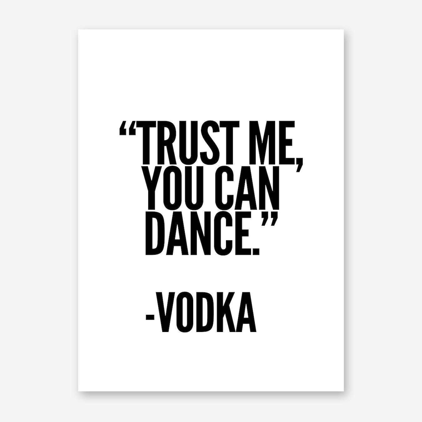 Vodka Print