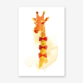 Elegant Giraffe Final Art Print