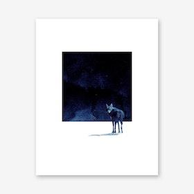 Im Going Back Art Print