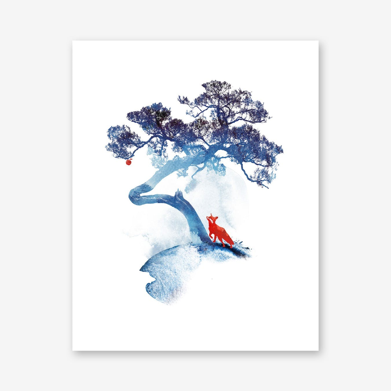 The Last Apple Tree Print