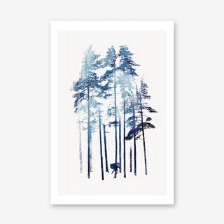 Winter Wolf Art Print