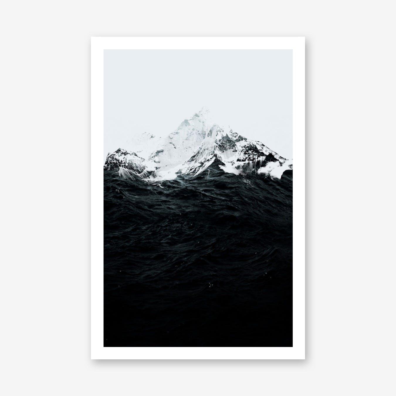 Those Waves Were Like Mountains Print