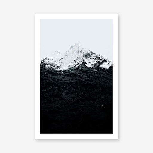 Those Waves Were Like Mountains Print