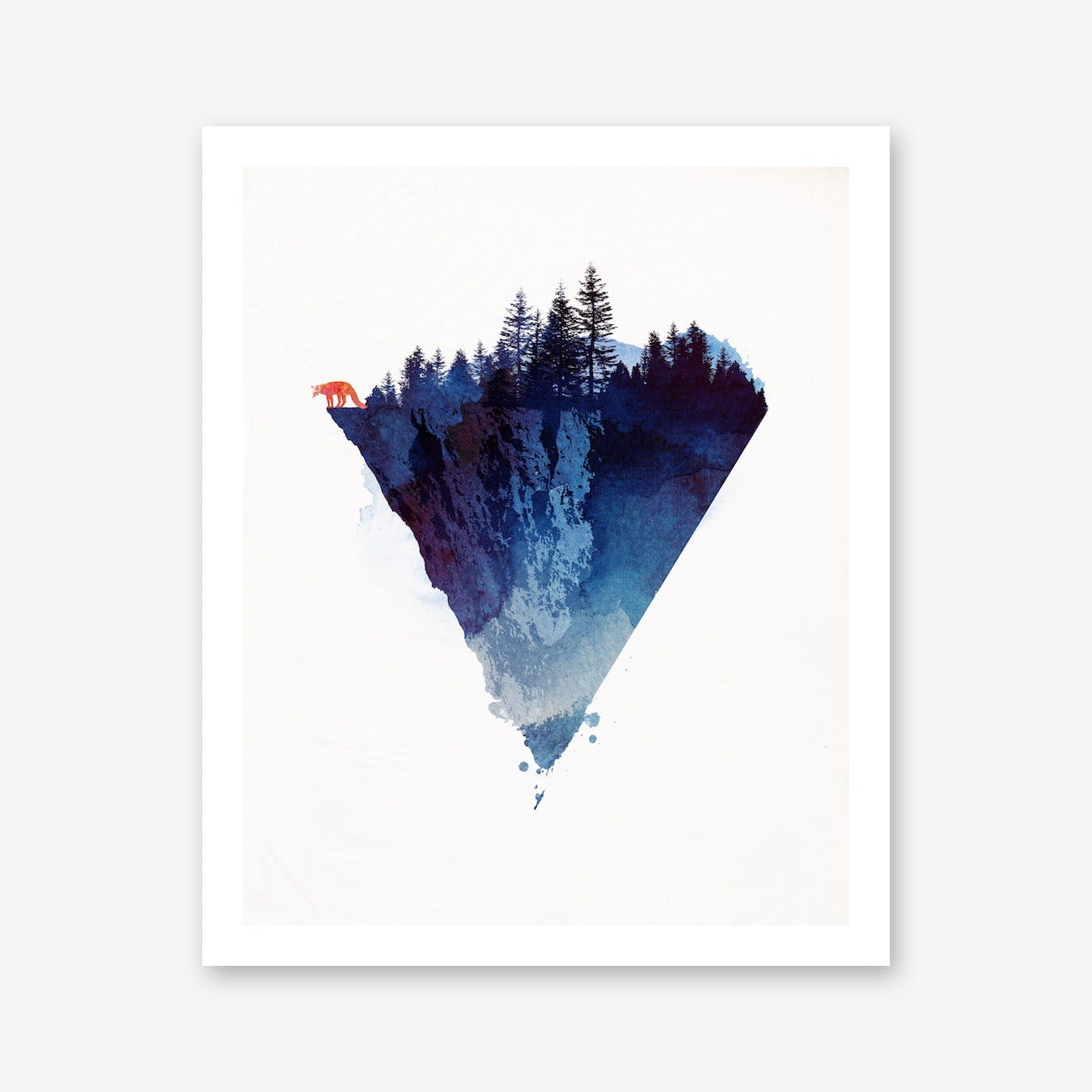Near To The Edge Print