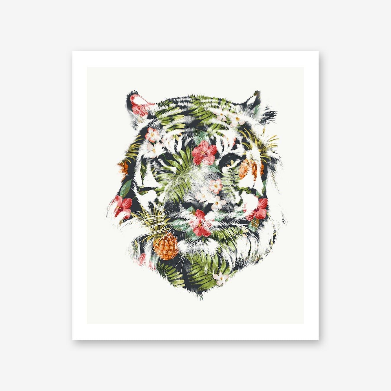 Tropical Tiger Print