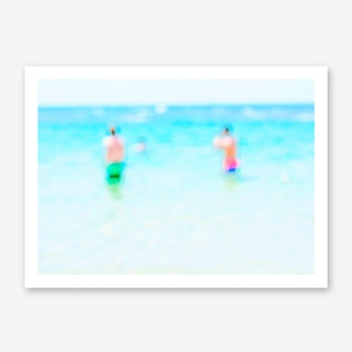 Seaside 2017 No. 10 Art Print
