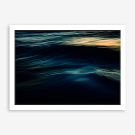 The Uniqueness Of Waves IV Art Print