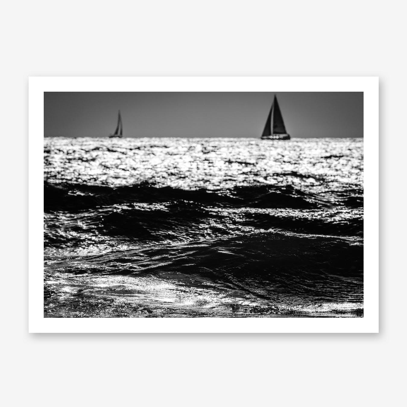 Two Sailboats Print