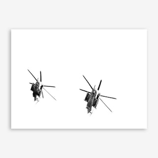 Two Sikorsky CH-53 Helicopters Art Print