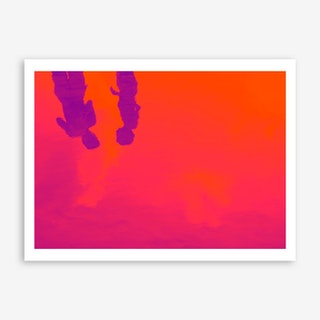 Reflections on the Sea Art Print