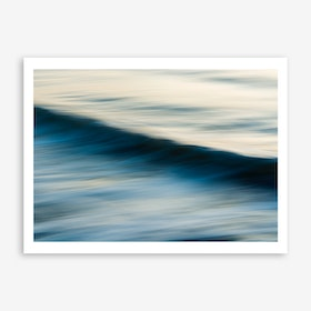 The Uniqueness of Waves X Art Print