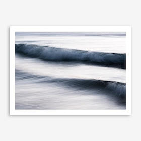 The Uniqueness of Waves XIII Art Print