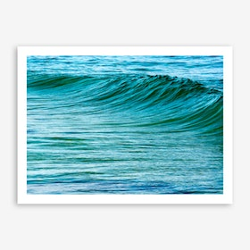 The Uniqueness of Waves XIV Art Print