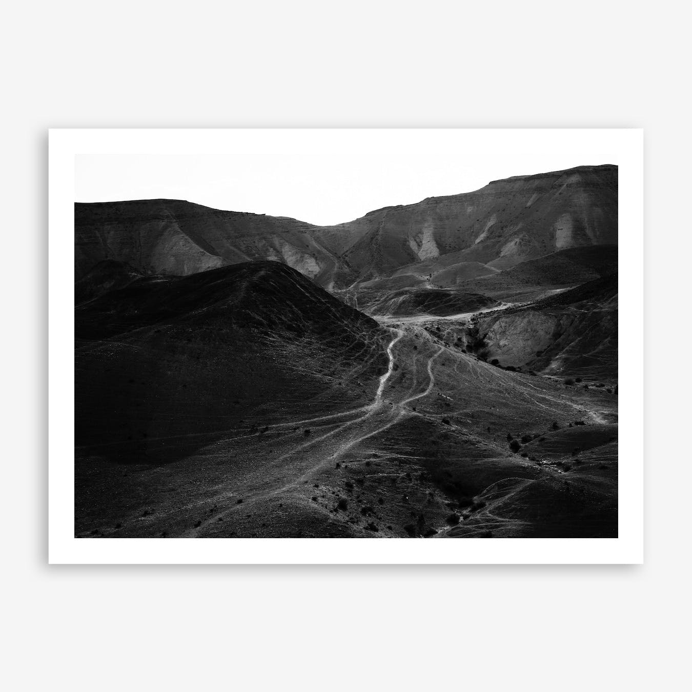 Mountains Of The Judean Desert II Print