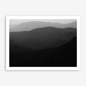 Mountains Of The Judean Desert III Print