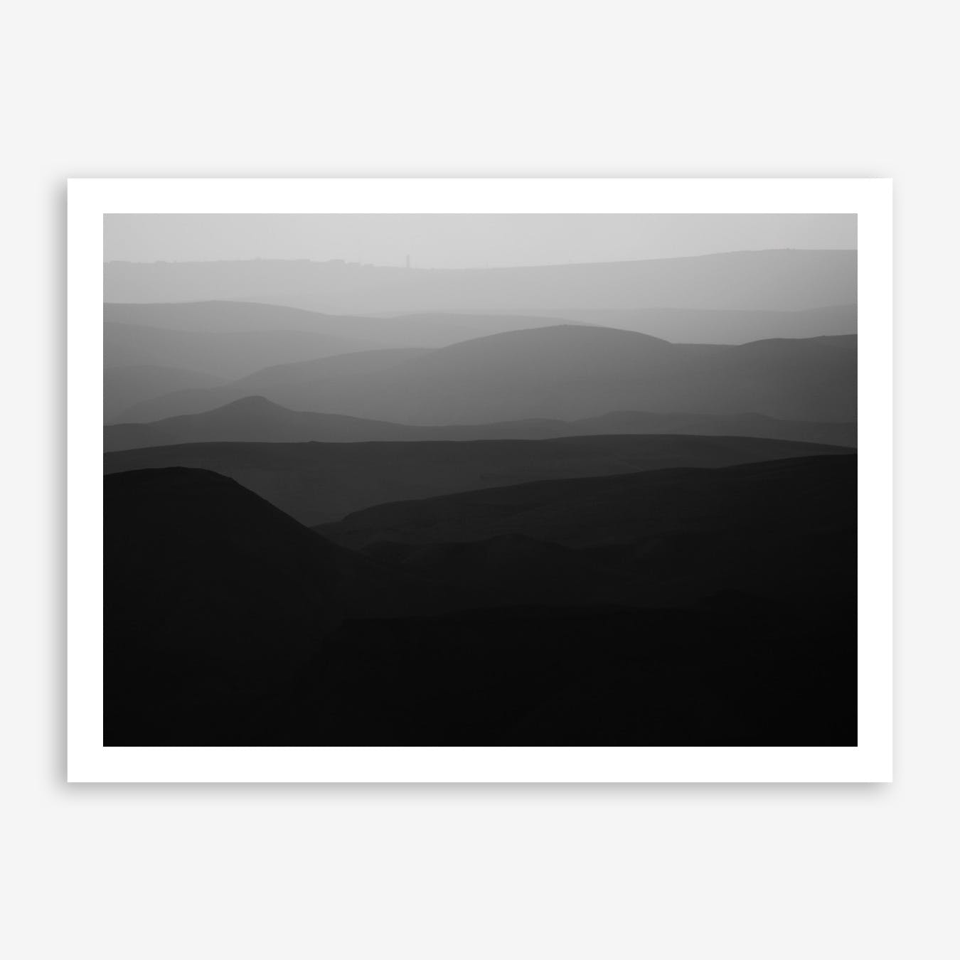 Mountains Of The Judean Desert IV Print