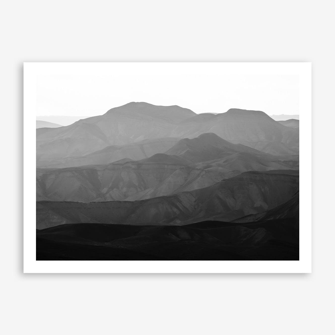 Mountains Of The Judean Desert V Print