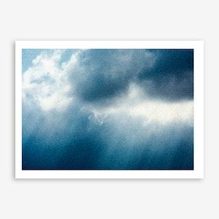 Winter Clouds Art Print