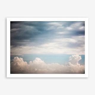 Autumn Clouds Art Print