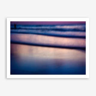 Blurry Fisherman Art Print