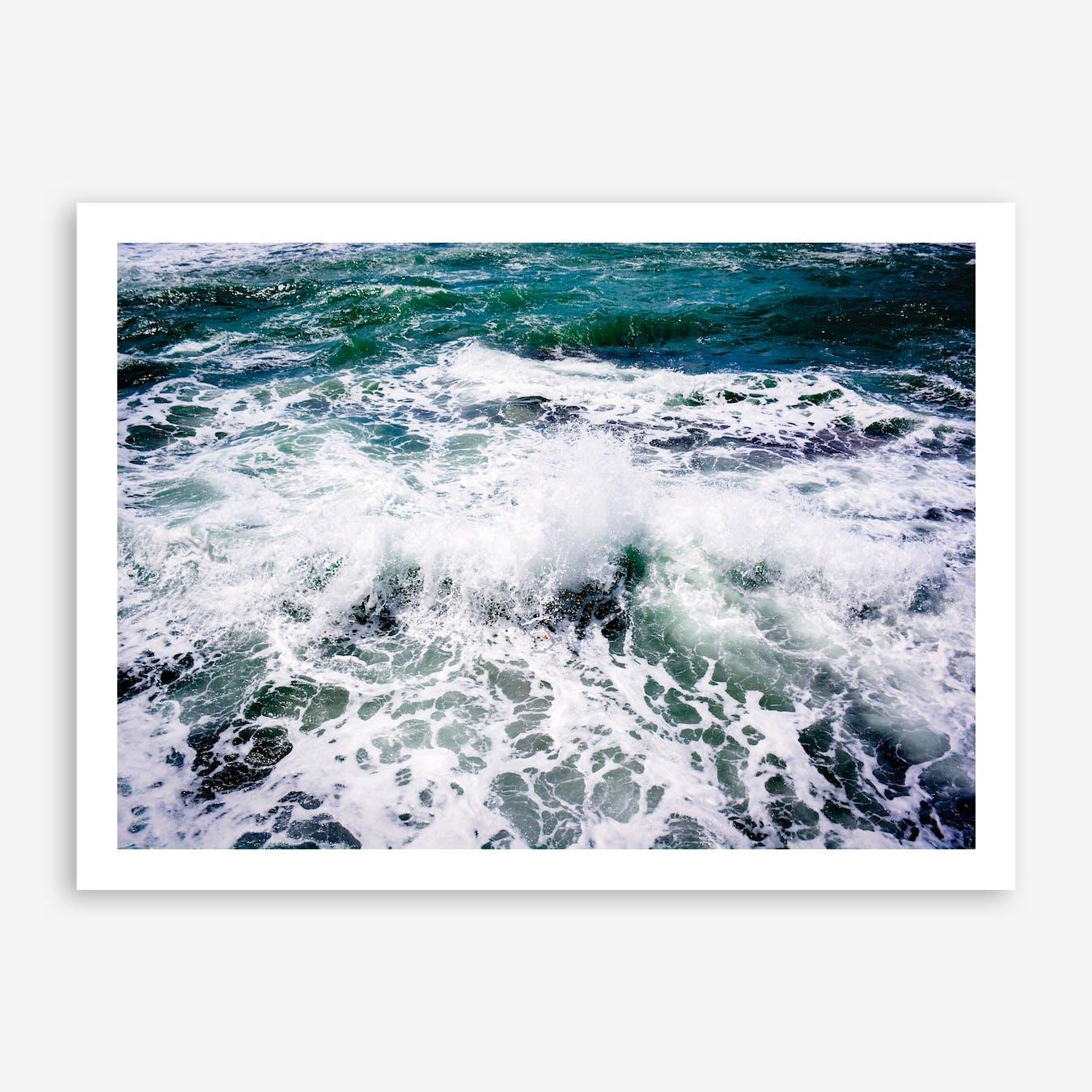 White Splash Print