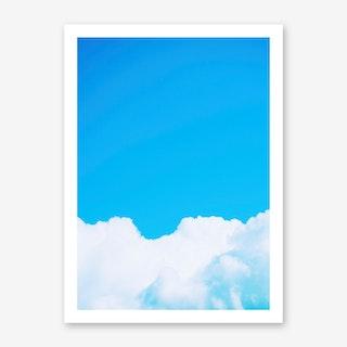 Blue Clouds I Art Print