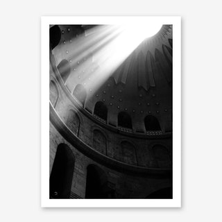 Good Friday In The Church Of The Holy Sepulcher Art Print