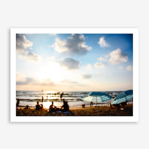 Late Afternoon At The Beach Print