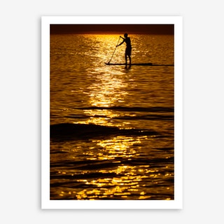 Mediterranean Sunset II Art Print