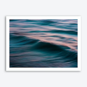 The Uniqueness of Waves XV Art Print