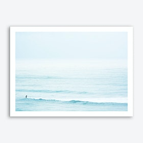 Winter Surfing III Art Print