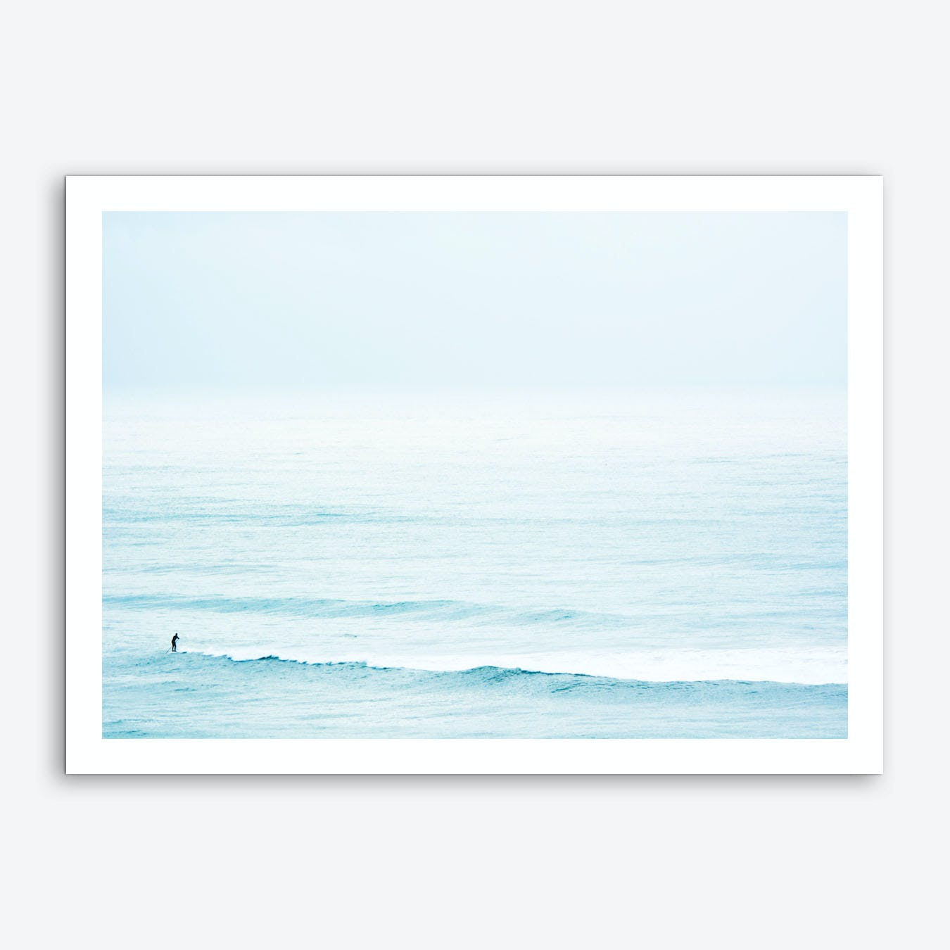 Winter Surfing III Art Print