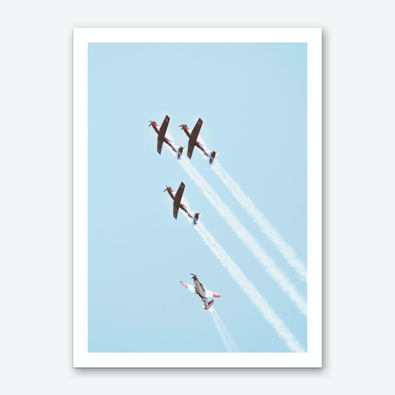 Vintage IAF II, 2018 Art Print