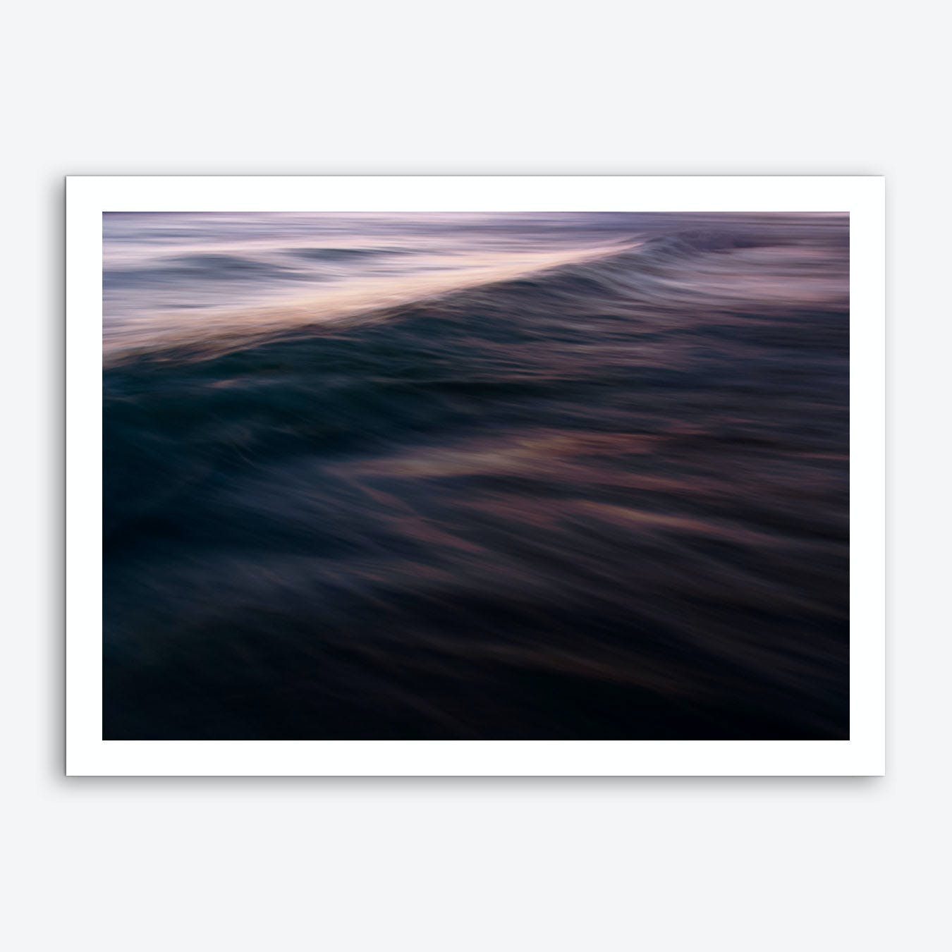 The Uniqueness of Waves XXI Art Print